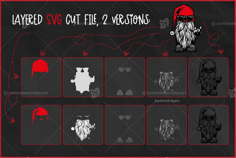 Christmas Biker Gnome - prw2 - live on DesignBundles.net