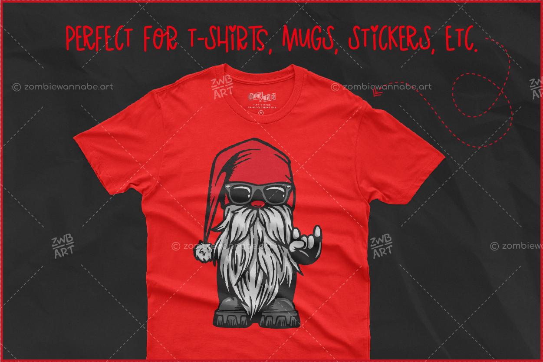 Christmas Biker Gnome - prw4- live on DesignBundles.net