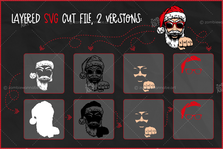 Christmas Cool Santa - prw2- live on DesignBundles.net