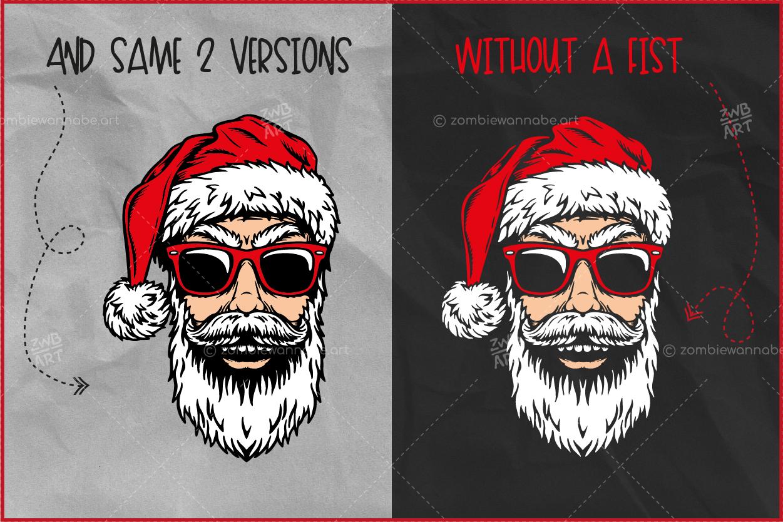 Christmas Cool Santa - prw4- live on DesignBundles.net