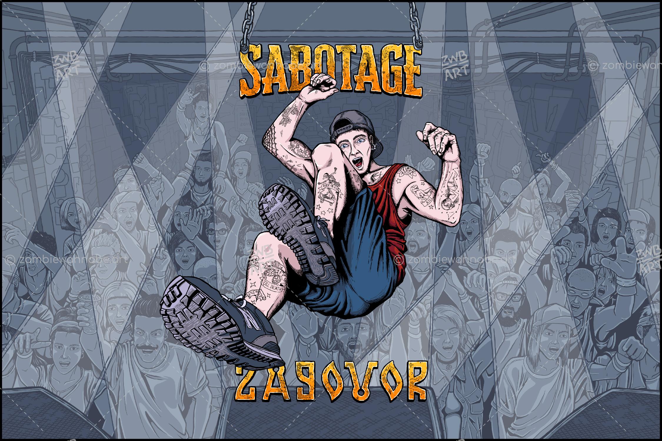 Sabotage - Stagediving - commissioned work