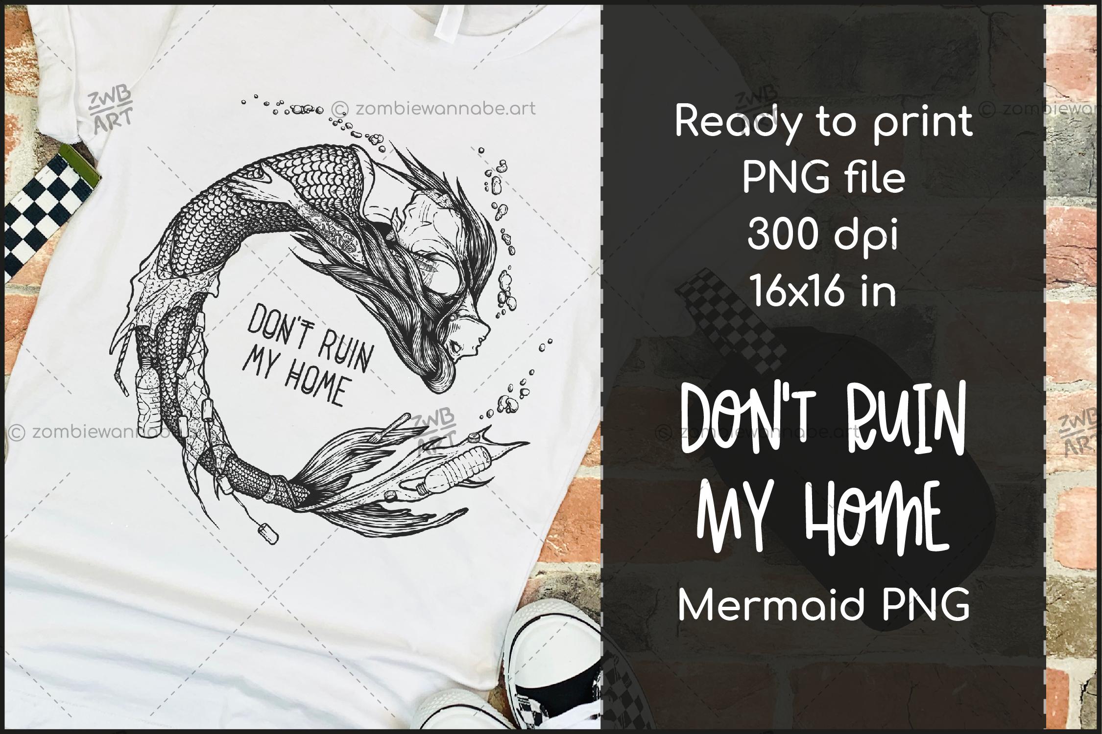 Trash Mermaid - prw3- live on DesignBundles.net